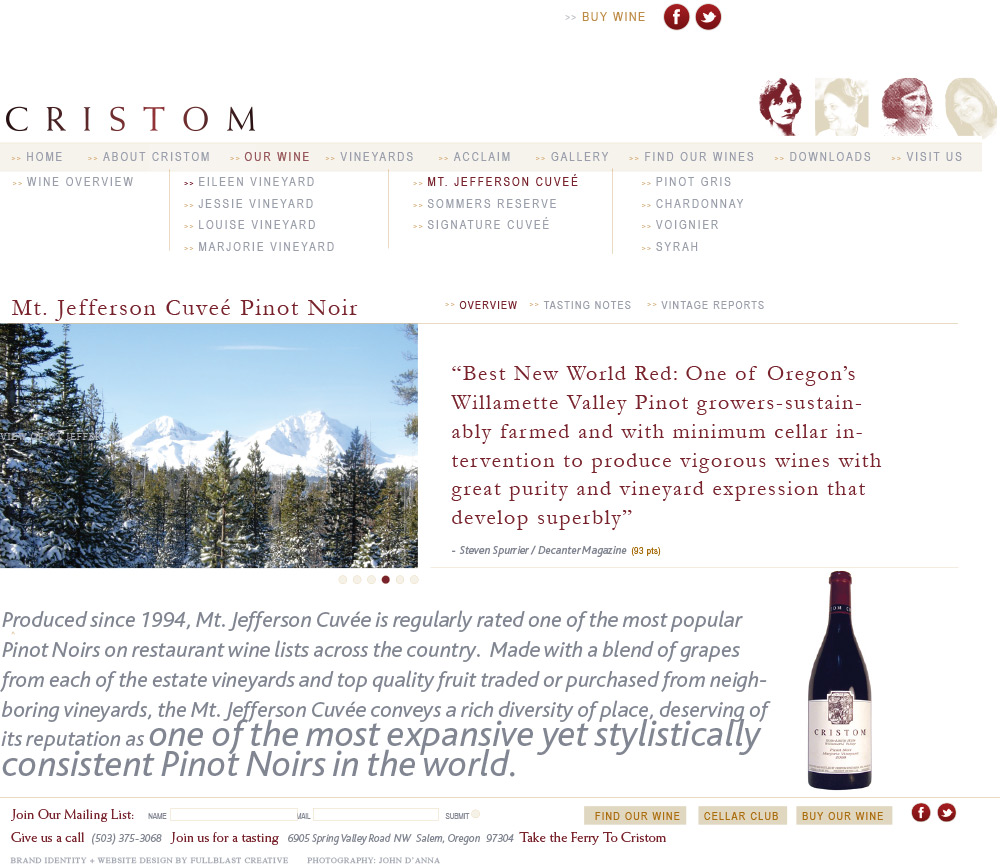 Cristom_Website_Design_Wine_Page