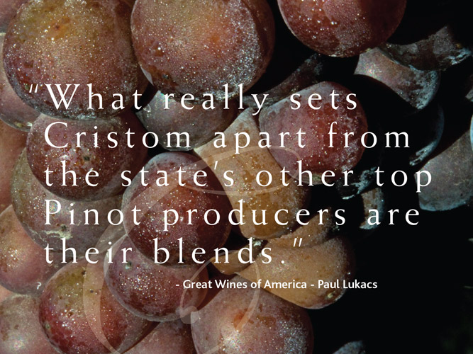 Cristom Vineyards Rebrand: Design + Story = Website Design