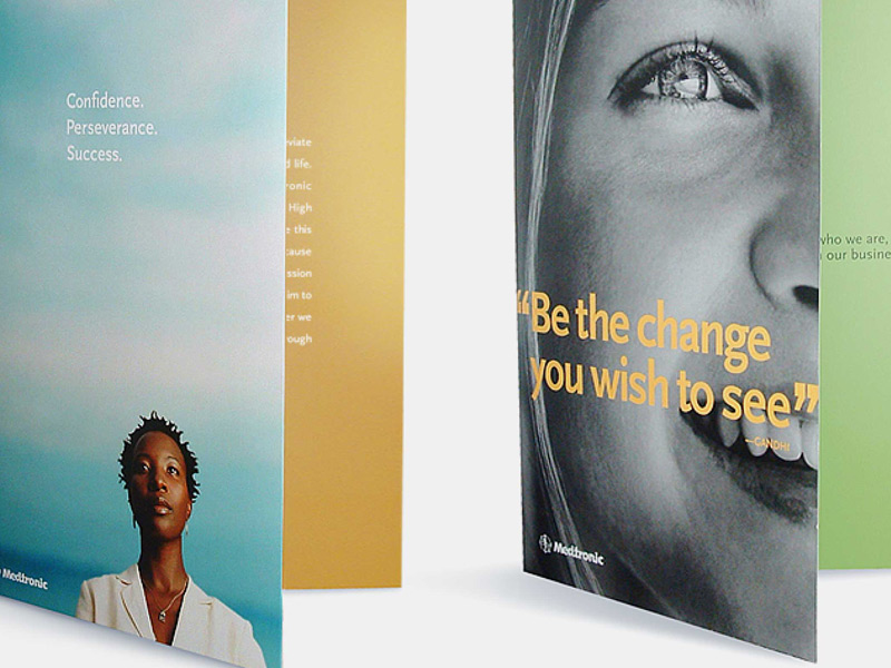 Medtronic: Brochure Design and Advertising